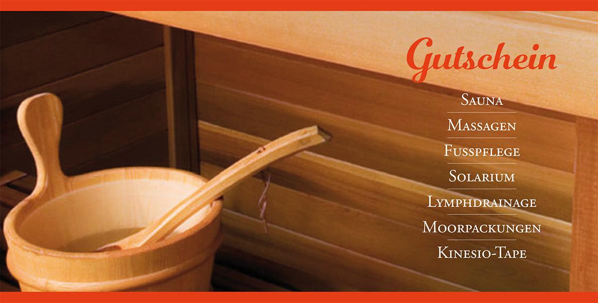 Gutschein Sauna in Gera Heike Falke staatl. geprüfte Physiotherapeutin